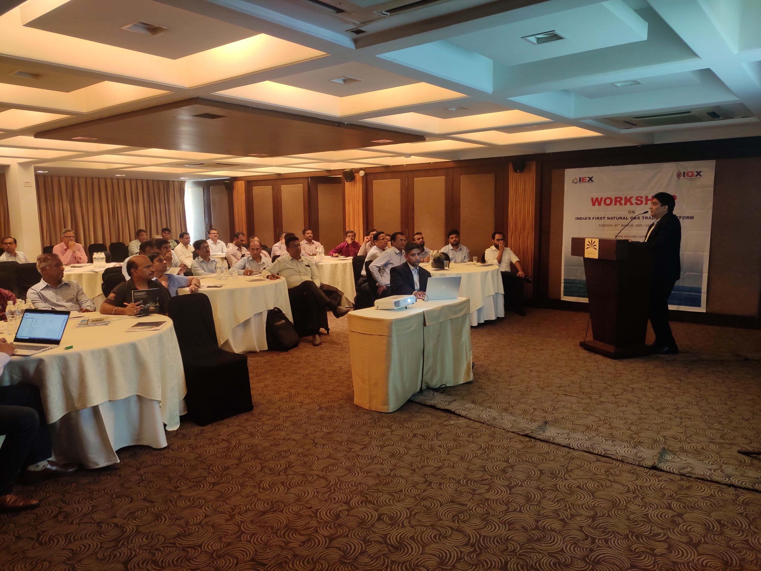Workshop on India's first Natural Gas Trading Platform-Ahmedabad